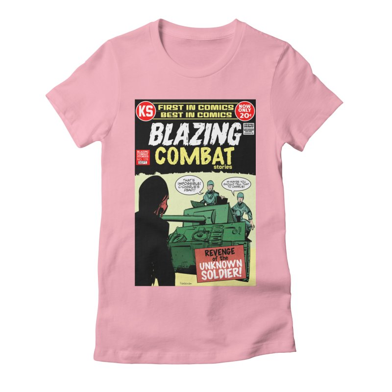 Blazing Combat Women's T-Shirt by Krishna Designs