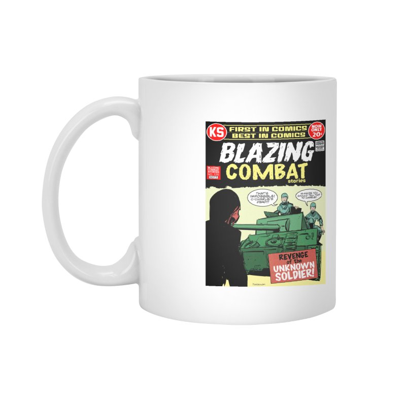 Blazing Combat Accessories Mug by Krishna Designs