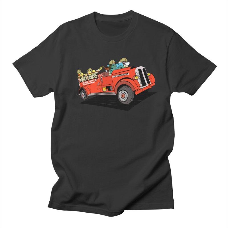Weiner Department Men's T-shirt by Krishna Designs