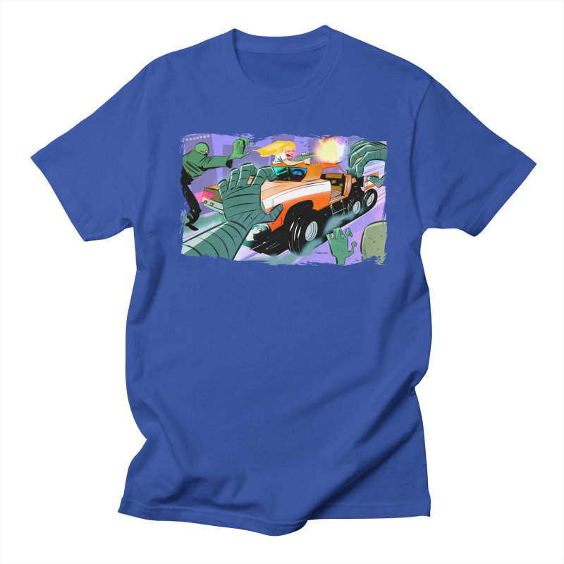 MOPAR Zombie Invasion Men's T-shirt by Krishna Designs