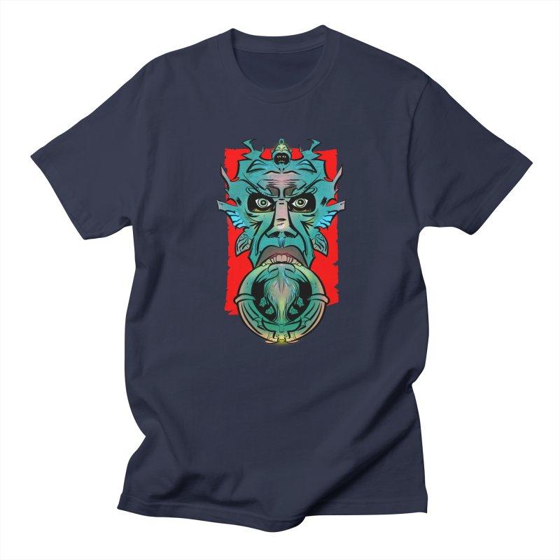 Door Knocker Men's T-shirt by Krishna Designs