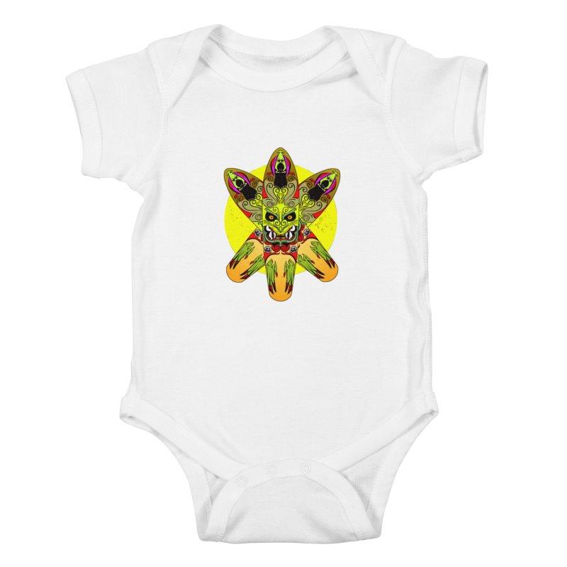 Board Star Kids Baby Bodysuit by Krishna Designs