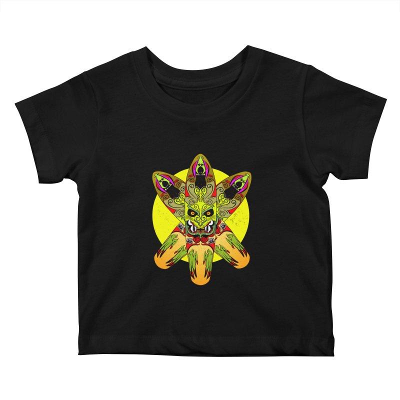 Board Star Kids Baby T-Shirt by Krishna Designs