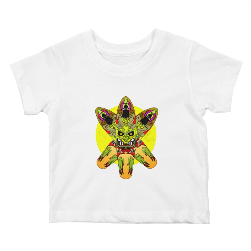 Board Star Kids Baby T-Shirt by Krishna Designs