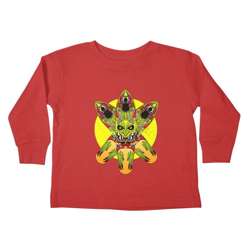 Board Star Kids Toddler Longsleeve T-Shirt by Krishna Designs