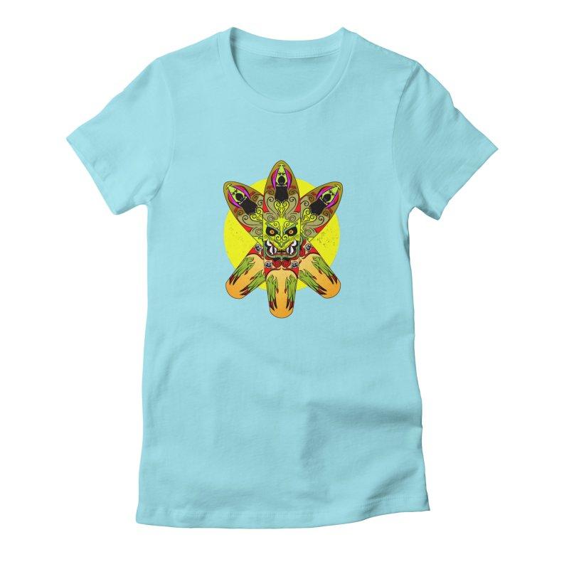 Board Star Women's Fitted T-Shirt by Krishna Designs