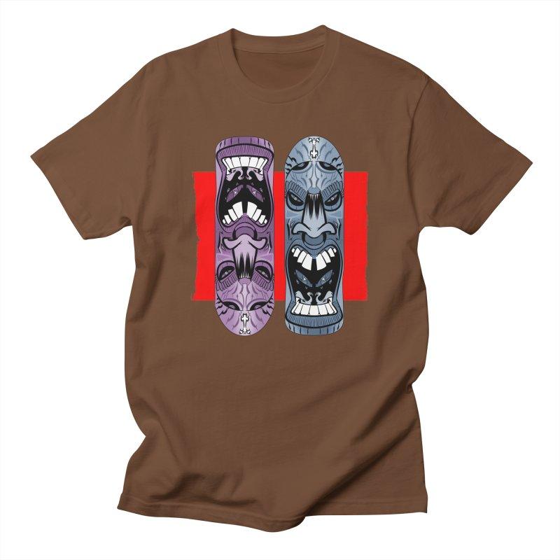 Flipside Men's T-shirt by Krishna Designs