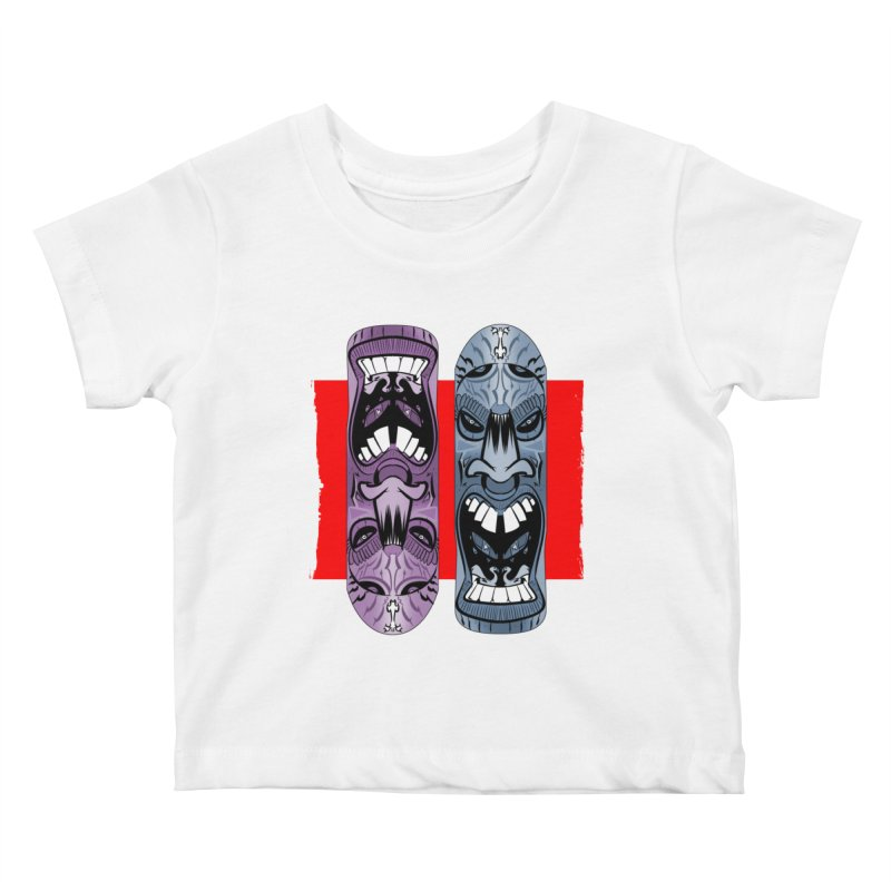 Flipside Kids Baby T-Shirt by Krishna Designs