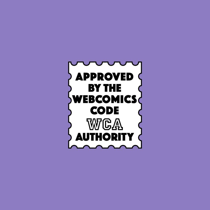 The Webcomics Code Authority by Krishna Designs