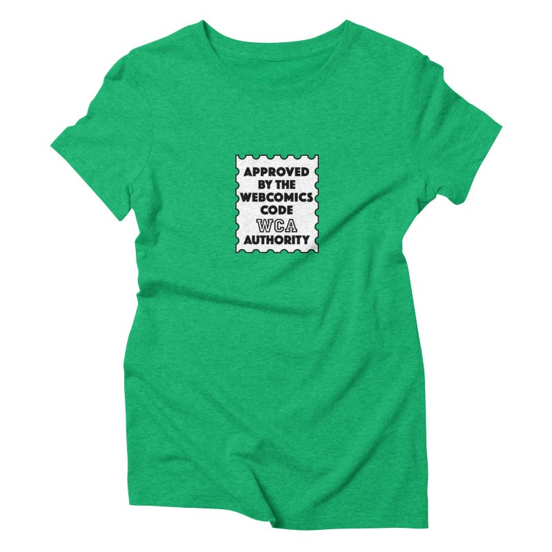 The Webcomics Code Authority Women's Triblend T-shirt by Krishna Designs