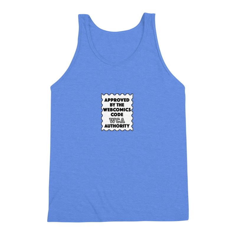 The Webcomics Code Authority Men's Triblend Tank by Krishna Designs