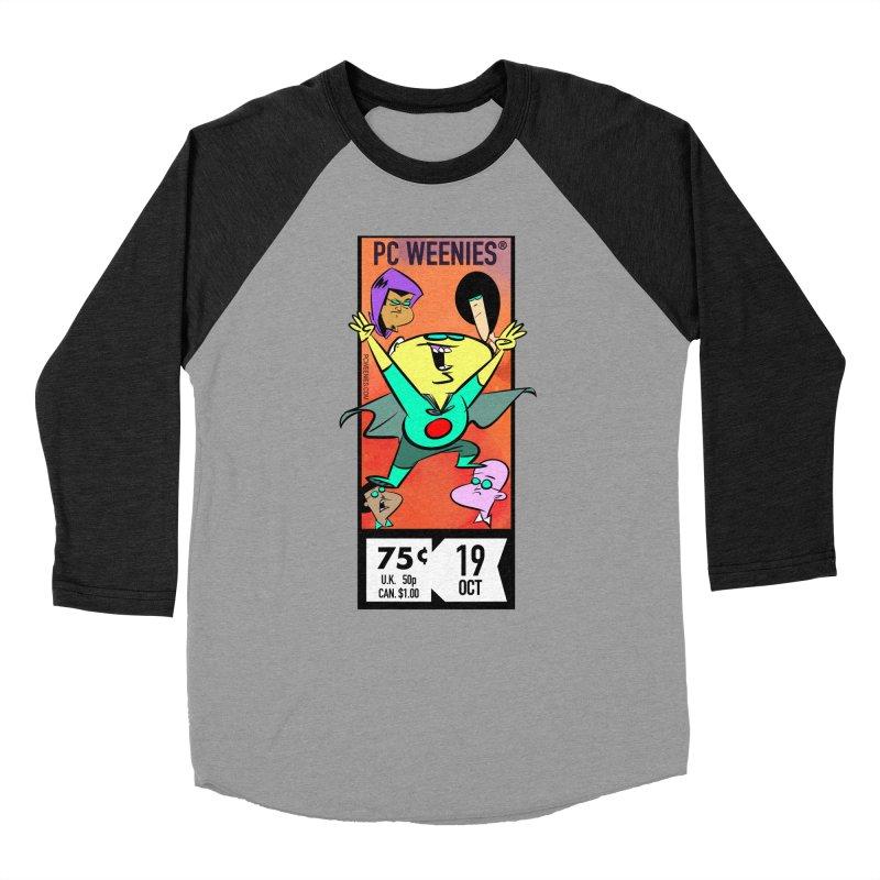 PCW corner box Men's Baseball Triblend T-Shirt by Krishna Designs
