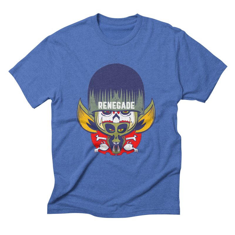 Renegade Men's Triblend T-shirt by Krishna Designs
