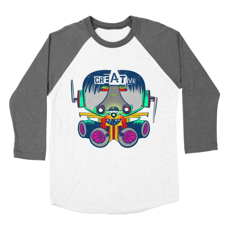 Creative Men's Baseball Triblend T-Shirt by Krishna Designs