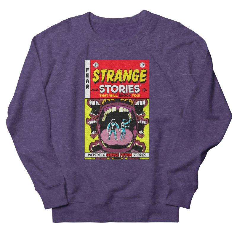 Strange Stories Men's Sweatshirt by Krishna Designs