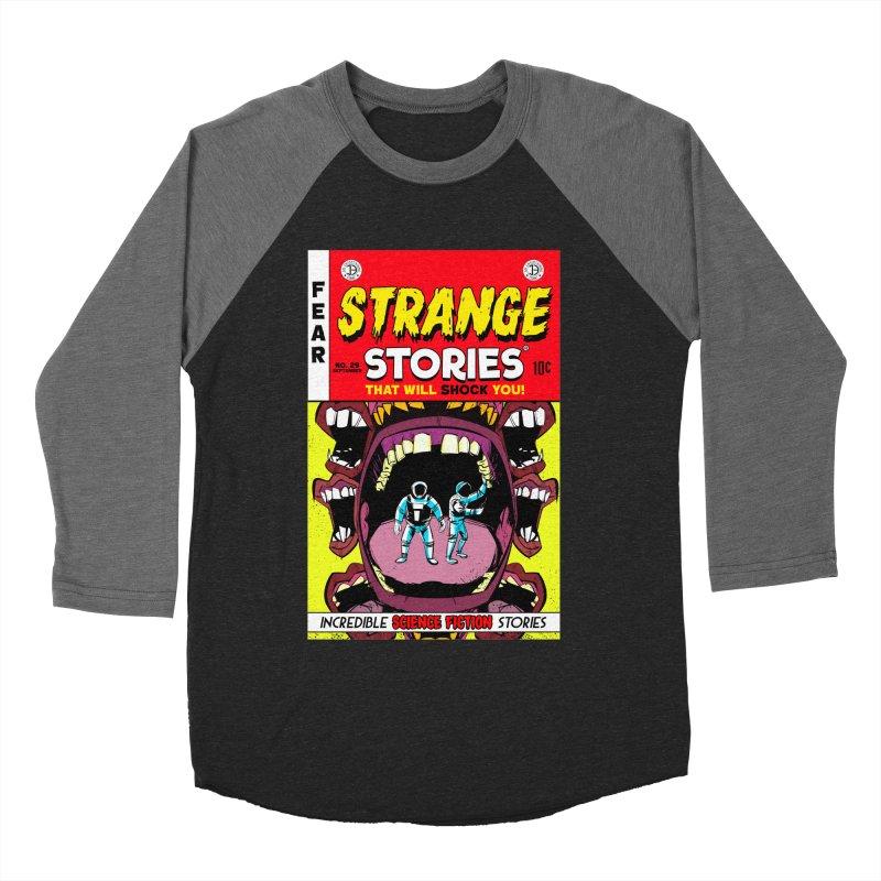 Strange Stories Women's Baseball Triblend T-Shirt by Krishna Designs