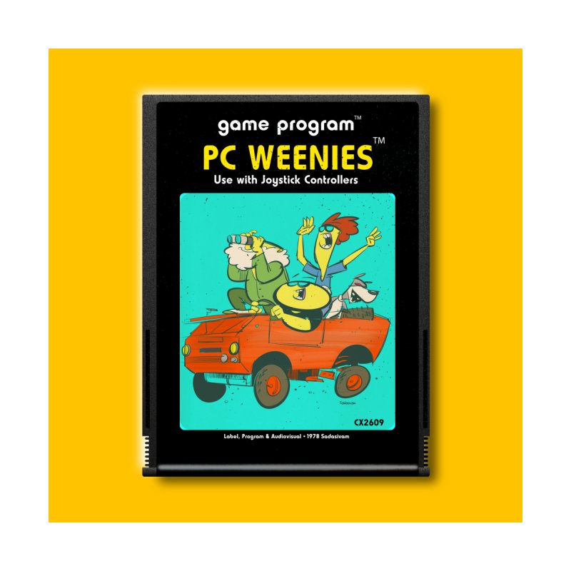 PCW Cartridge Square Wall Art by Krishna Designs