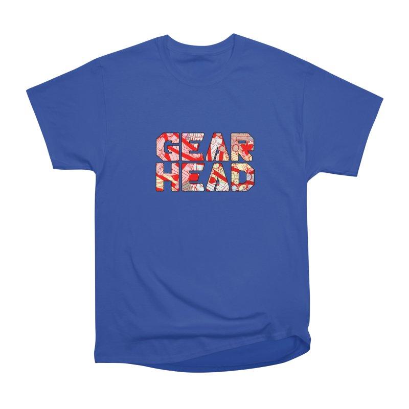 Gear Head Women's Classic Unisex T-Shirt by Krishna Designs