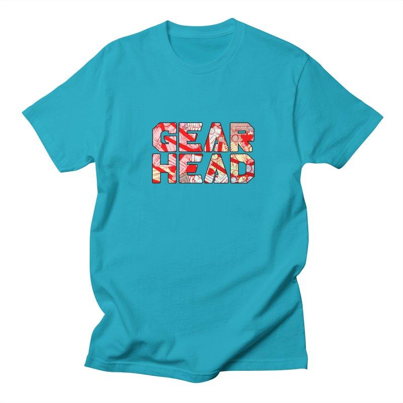 Gear Head Women's Unisex T-Shirt by Krishna Designs