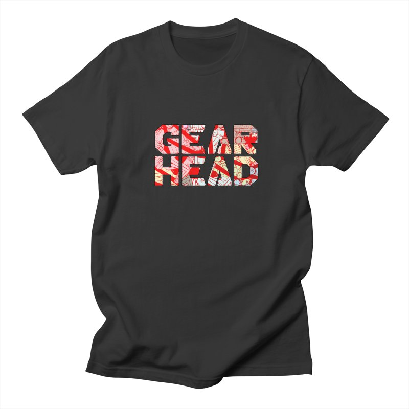 Gear Head Men's T-Shirt by Krishna Designs