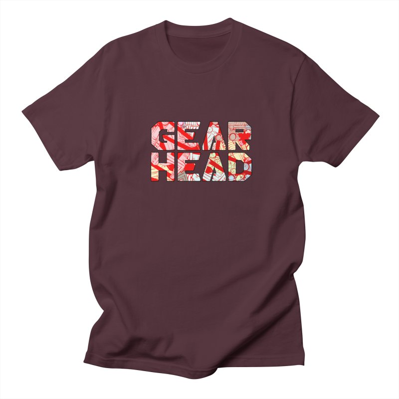 Gear Head Men's T-Shirt by Krishna Designs