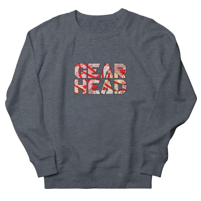 Gear Head Men's Sweatshirt by Krishna Designs