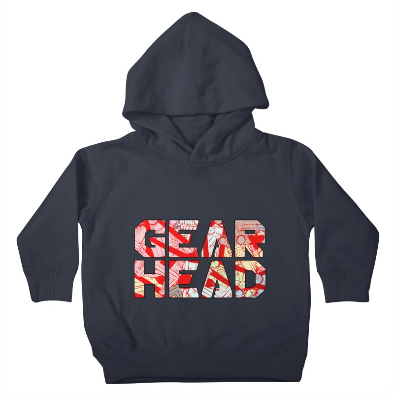 Gear Head Kids Toddler Pullover Hoody by Krishna Designs