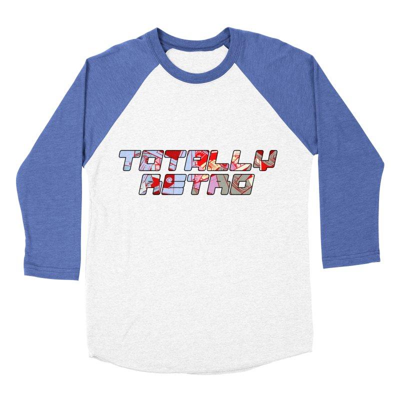 Totally Retro Women's Baseball Triblend T-Shirt by Krishna Designs