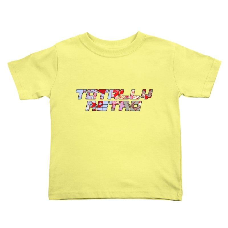 Totally Retro Kids Toddler T-Shirt by Krishna Designs