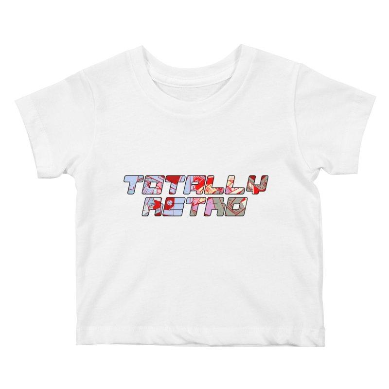 Totally Retro Kids Baby T-Shirt by Krishna Designs