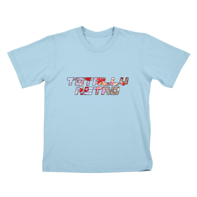 Totally Retro Kids T-Shirt by Krishna Designs