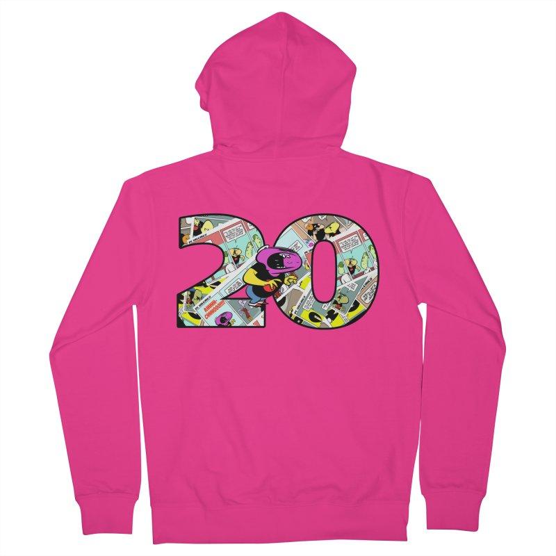 PCW 20 Men's Zip-Up Hoody by Krishna Designs
