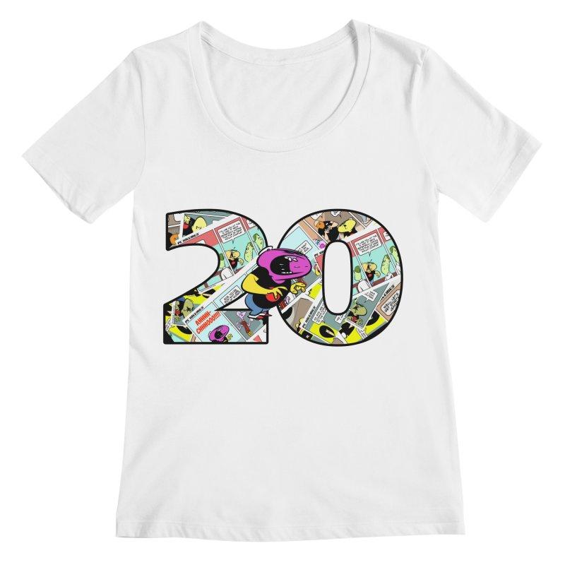 PCW 20 Women's Scoopneck by Krishna Designs