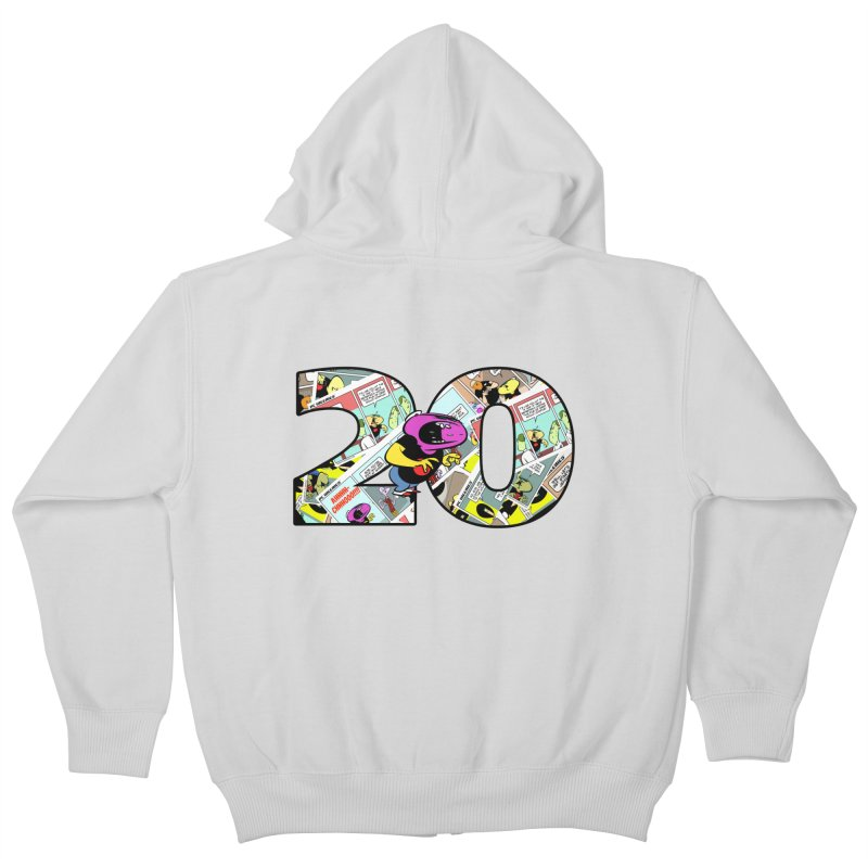 PCW 20 Kids Zip-Up Hoody by Krishna Designs