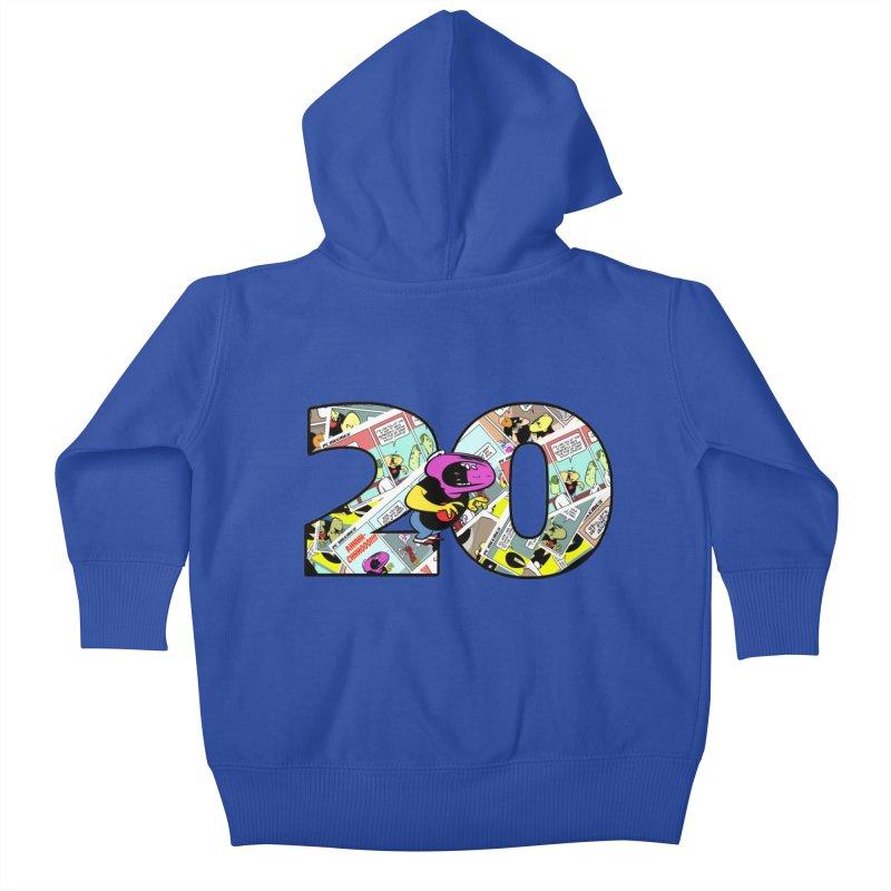 PCW 20 Kids Baby Zip-Up Hoody by Krishna Designs