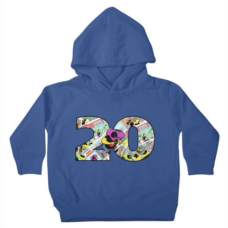 PCW 20 Kids Toddler Pullover Hoody by Krishna Designs