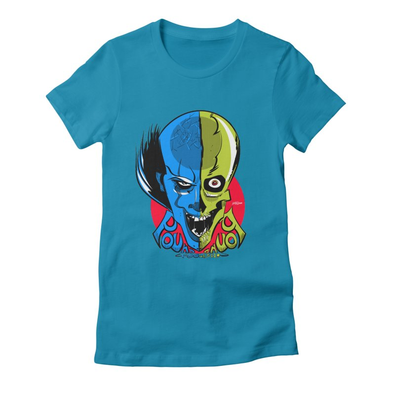 Pound Foolish Women's Fitted T-Shirt by Krishna Designs