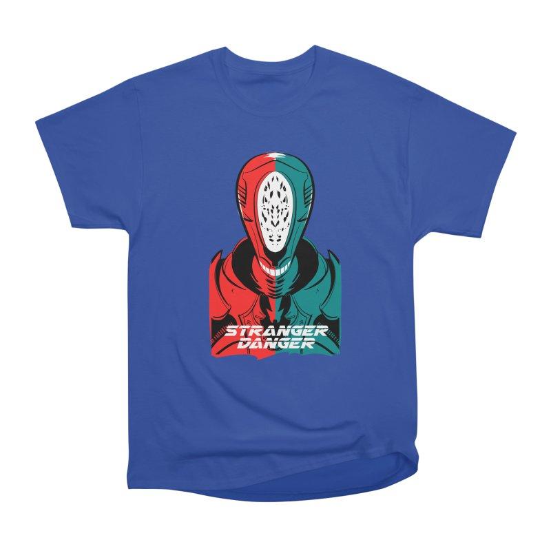 Stranger Danger Men's Heavyweight T-Shirt by Krishna Designs