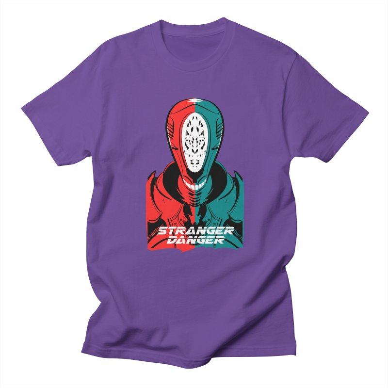 Stranger Danger Men's Regular T-Shirt by Krishna Designs