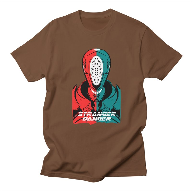 Stranger Danger Men's Regular T-Shirt by Krishna Designs