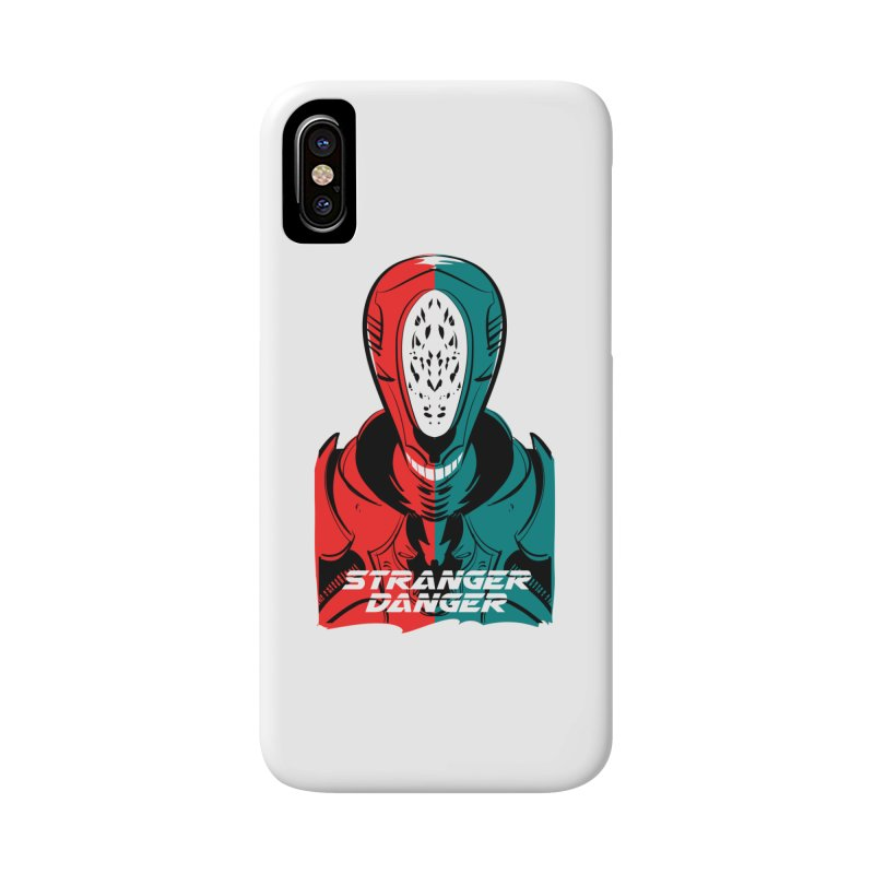 Stranger Danger Accessories Phone Case by Krishna Designs