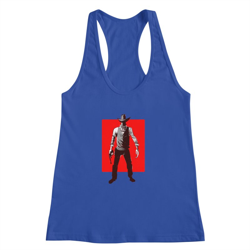 Desperado Women's Racerback Tank by Krishna Designs