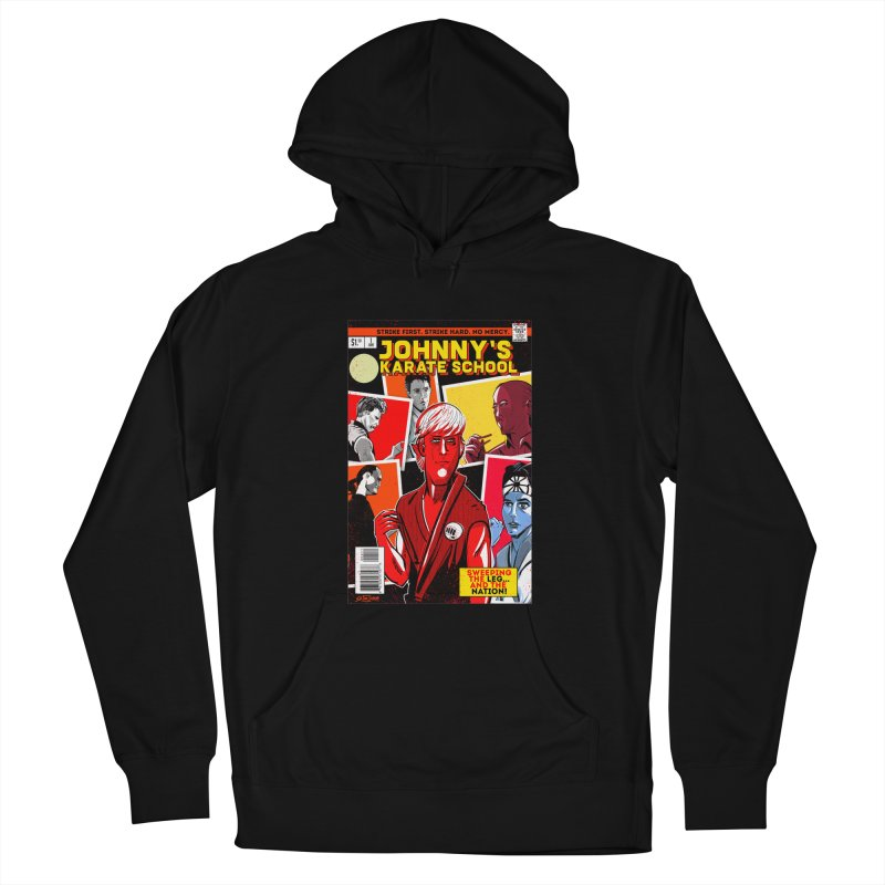 Johnny's Karate School Women's French Terry Pullover Hoody by Krishna Designs