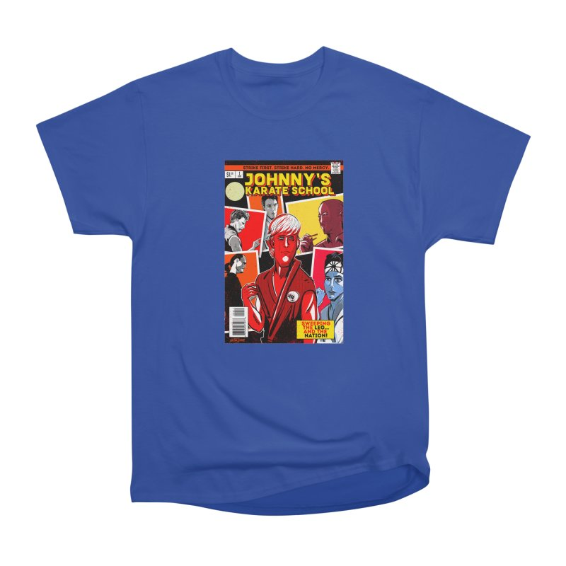 Johnny's Karate School Women's Heavyweight Unisex T-Shirt by Krishna Designs