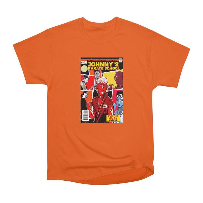 Johnny's Karate School Men's Heavyweight T-Shirt by Krishna Designs