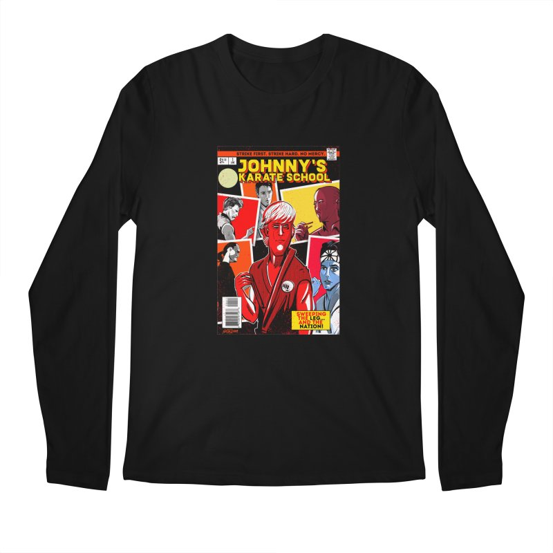 Johnny's Karate School Men's Longsleeve T-Shirt by Krishna Designs