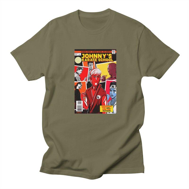 Johnny's Karate School Women's Regular Unisex T-Shirt by Krishna Designs