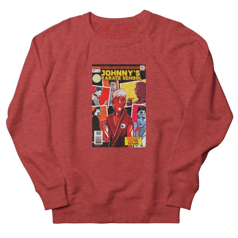 Johnny's Karate School Men's Sweatshirt by Krishna Designs