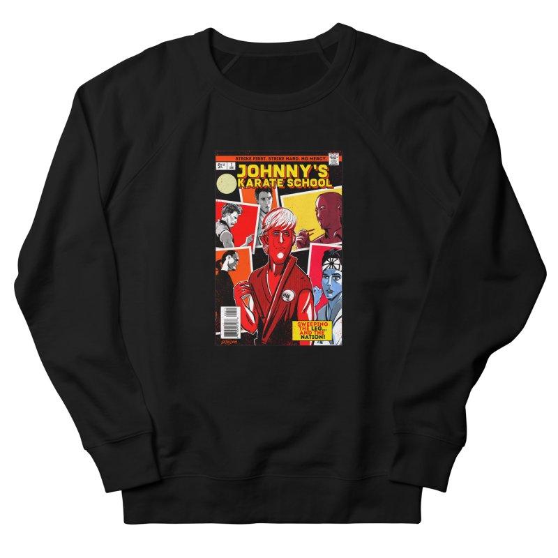 Johnny's Karate School Men's French Terry Sweatshirt by Krishna Designs