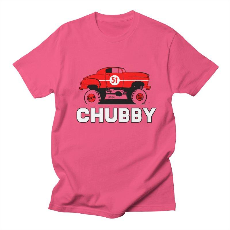 Chubby Men's T-Shirt by Krishna Designs